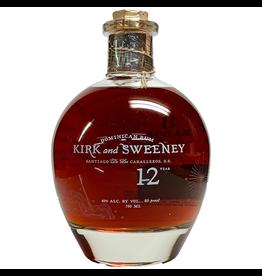 Kirk & Sweeney 12 Year Dominican Rum 750ml