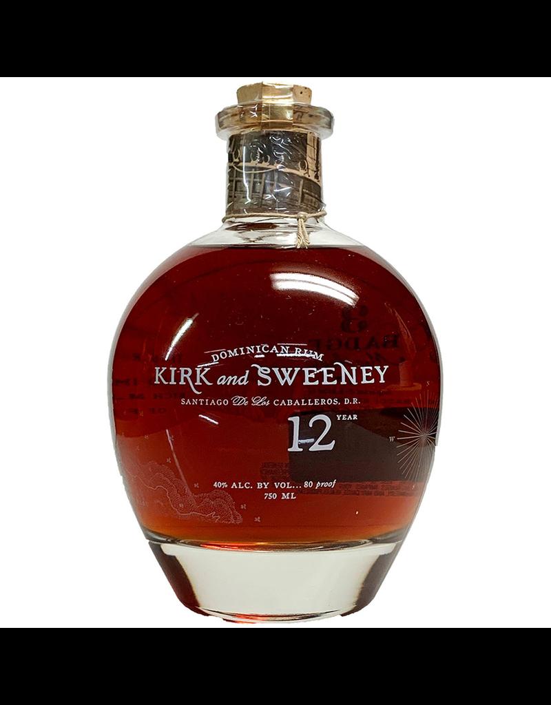 Rum Kirk & Sweeney 12 Year Dominican Rum 750ml