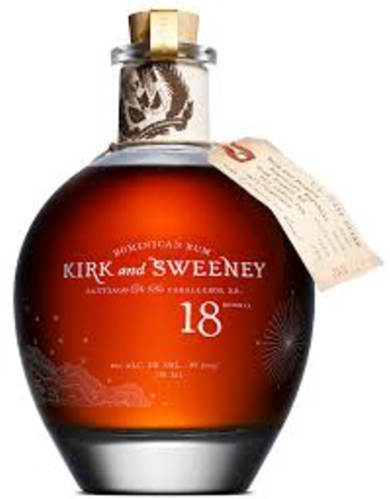Kirk & Sweeney 18 Year Dominican Rum 750ml