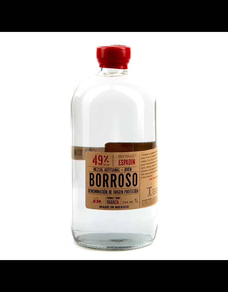 Tequila/Mezcal Borroso Espadin Santiago Matatlan Mezcal 49% One Liter