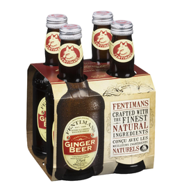 Sweetened Beverage Fentimans Ginger Beer 4pack