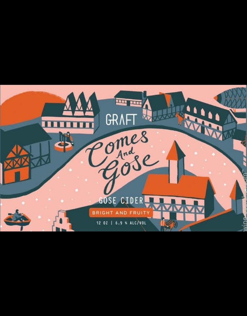 """Graft """"Comes and Gose"""" Gose/Wit Cider12oz 4pk"""