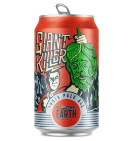 Scorched Earth Giant Killer IPA 12oz 6Pk Cans