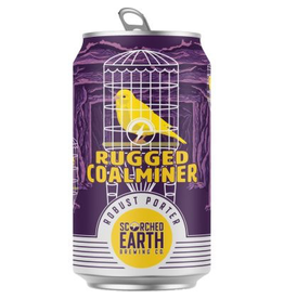 """Scorched Earth """"Rugged Coalminer"""" Robust Porter 12oz 6pk Cans"""