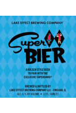 Lake Effect Super Bier 120z 6pk Cans