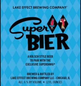 Lake Effect Super Bier 120z 6pk Cans