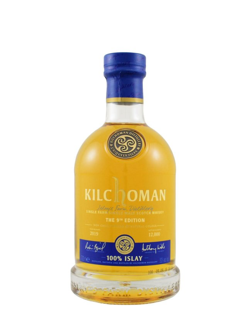 "Kilchoman ""The 9th Edition"" Single Farm Single Malt Scotch Whisky 2019 750ml"