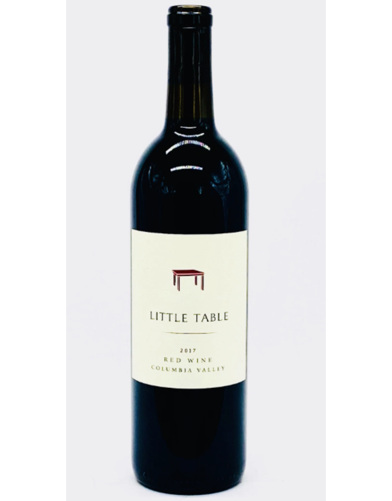 Little Table Red Wine (Syrah, Mourvedre, Grenache) Columbia Valley WA 2017 750ml