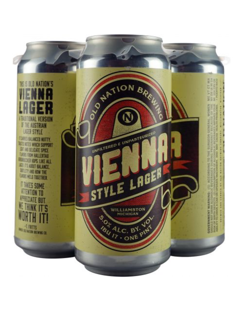 Old Nation Vienna Lager 16oz 4pk