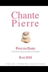 Chante Pierre Pays du Gard Rosé 2018 750ml