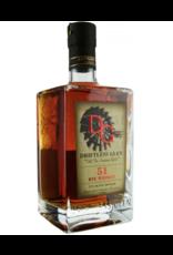 "Driftless Glen ""51"" Rye Whiskey Baraboo Wisconsin 750ml"