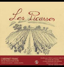 """Laurent Lebled """"Les Picasses"""" Cabernet Franc Vin de France 2016 750ml"""