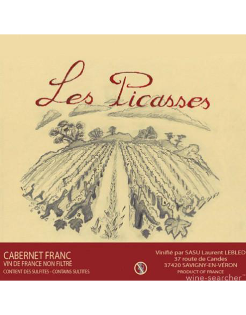 "Laurent Lebled ""Les Picasses"" Cabernet Franc Vin de France 2016 750ml"