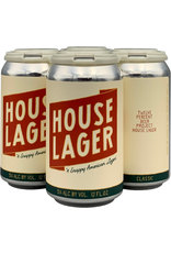 """Twelve Percent Beer Project """"House Lager"""" 12oz 4pk"""