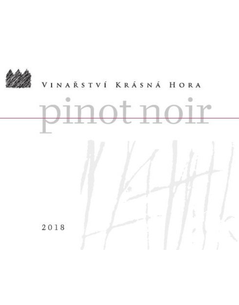 Krasna Hora Pinot Noir Czech Republic 2018 750ml