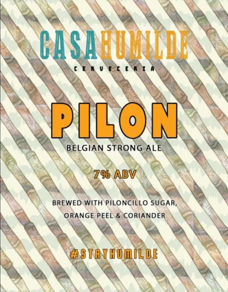 "Casa Humilde ""Pilon"" Belgian Strong Ale 16oz 4pk"