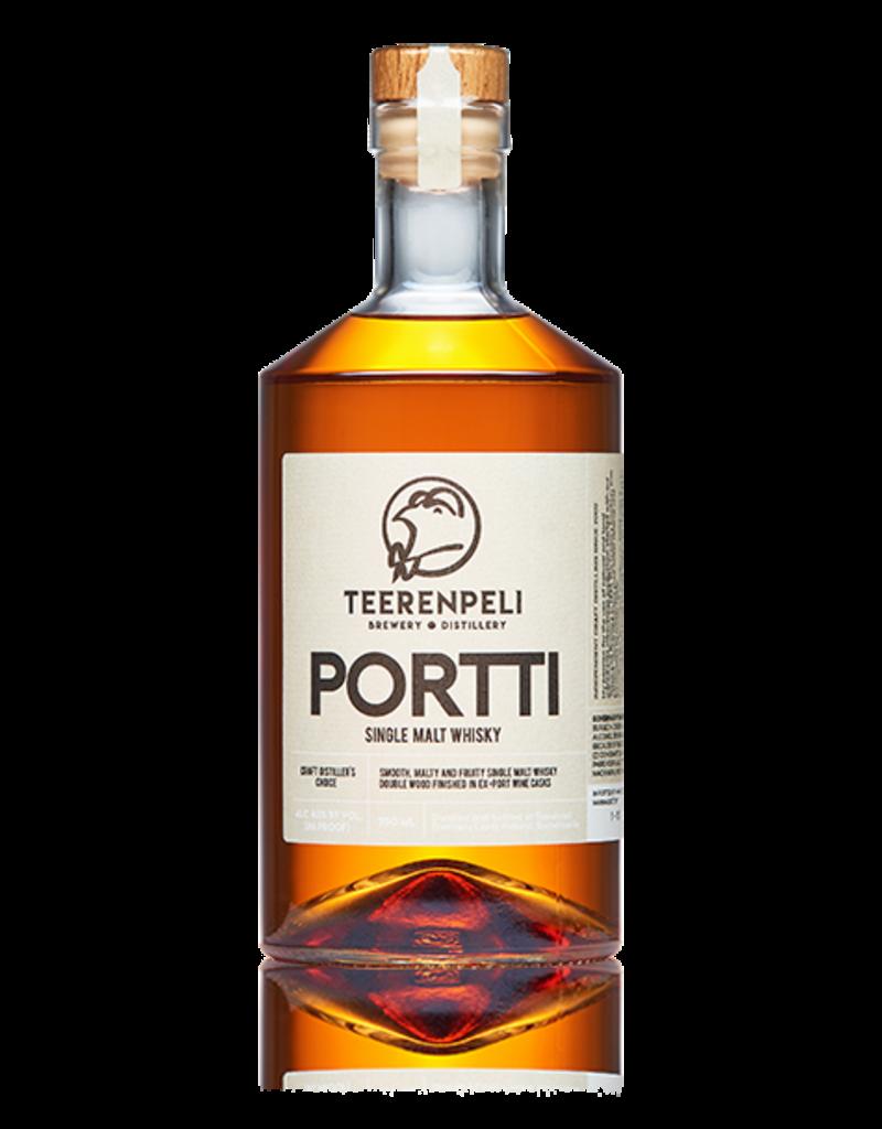 "Teerenpeli ""Portti"" Single Malt Whisky (Double Wood Finished in Ex-Port Casks) Lahti Finland 750ml"