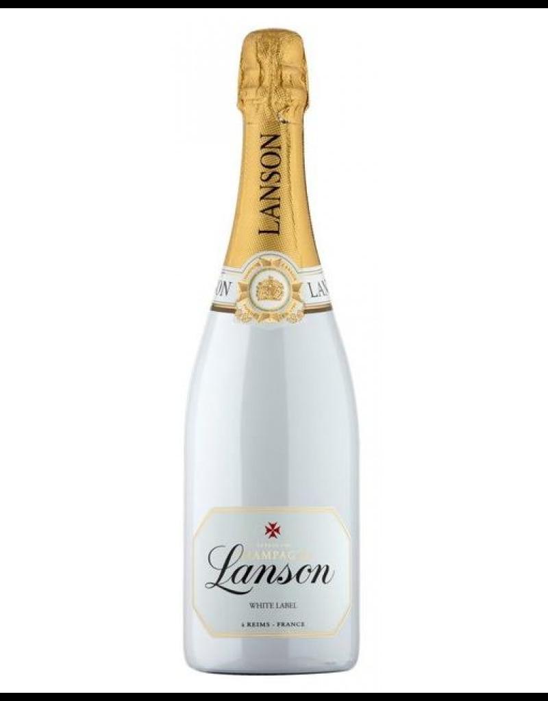 "Lanson ""White Label Champagne Dry Sec NV 750ml"