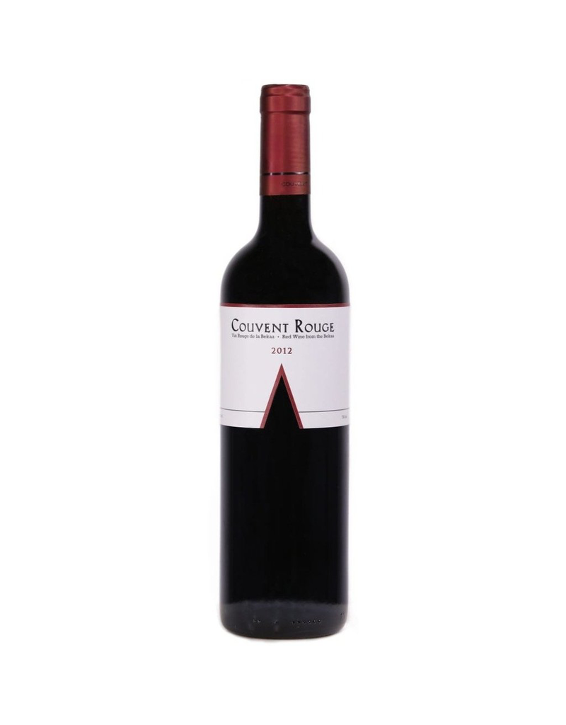 Couvent Rouge Winery Red Wine Bekka Valley Lebanon 2012 750ml