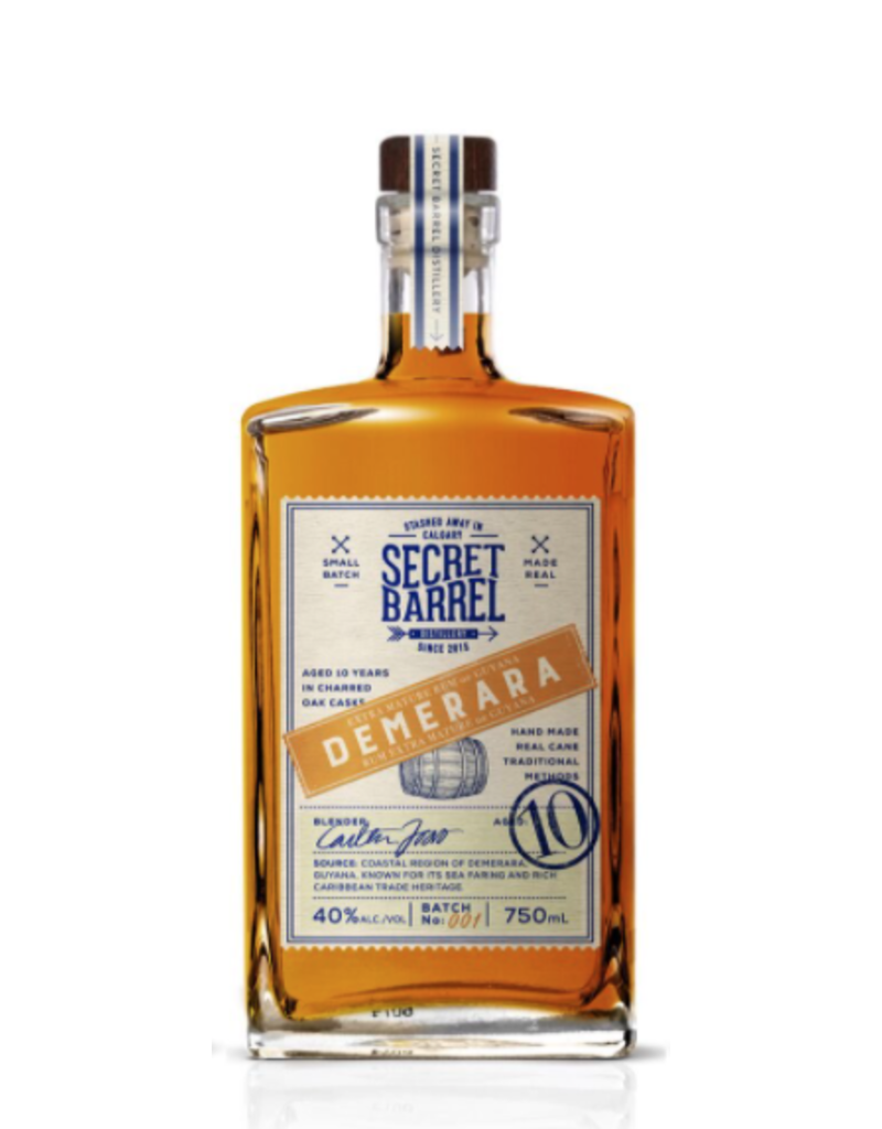 Secret Barrel Demerara Rum Guyana 750ml