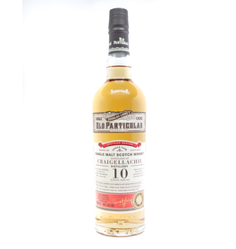 "Douglass Laing ""Old Particular"" Craigellachie 10 Year Single Malt Scotch Whisky 750ml"