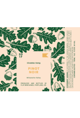 "Flat Brim ""Cicadas Song"" Pinot Noir Willamette Valley 2019 750ml"