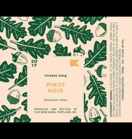 "Flat Brim ""Cicadas Song"" Pinot Noir Willamette Valley 2019 750ml"
