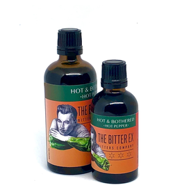 """The Bitter Ex """"Hot & Bothered"""" Hot Pepper Bitters 50ml"""