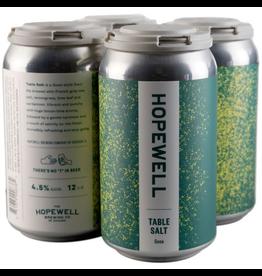 "Hopewell ""Table Salt"" Sour Beer 12oz 4pk"