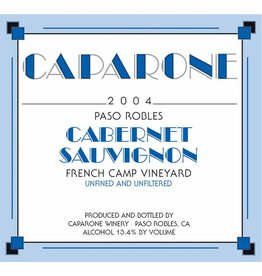 American Wine Caparone Cabernet Paso Robles 2015 750ml