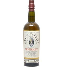 Whiskey Clear Creek Distillery McCarthy's Single Malt Whiskey 750ml