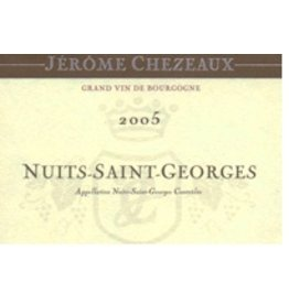 French Wine Jérome Chezeaux Nuit-Saint-Georges 2010 750ml