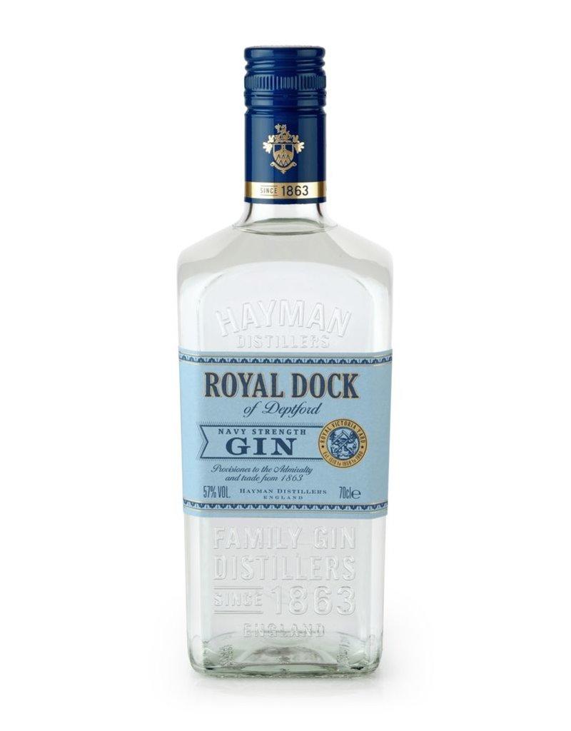 Gin Hayman's Royal Dock Gin Navy Strength 750ml