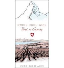 Swiss Wine Cave de la Cote Rosé de Gamay 2017 750ml