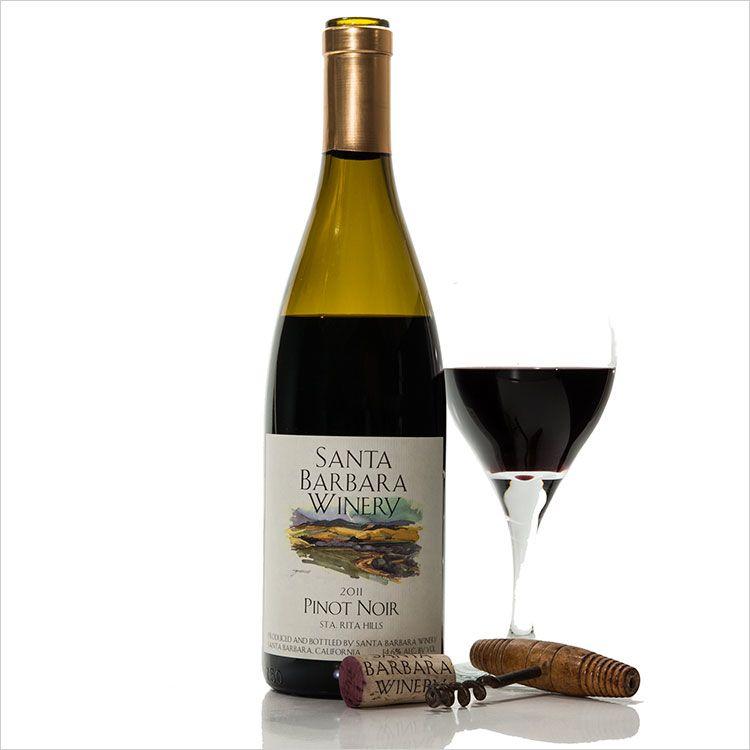 American Wine Santa Barbara Winery Santa Barbara County Pinot Noir 2017 750ml