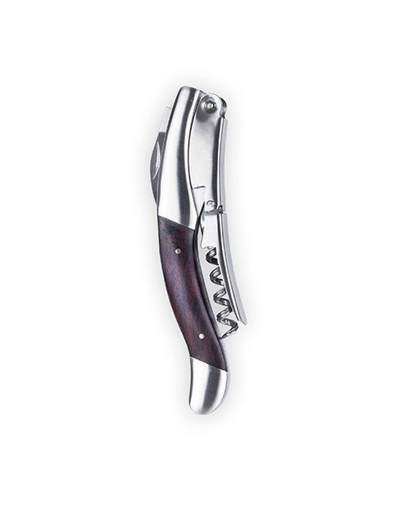 Viski Ebony Wood Handle Oversized Corkscrew