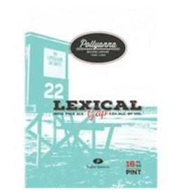 Pollyanna Lexical Gap 16oz 4pk Cans