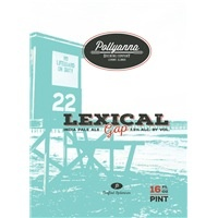 Beer Pollyanna Lexical Gap 16oz 4pk Cans