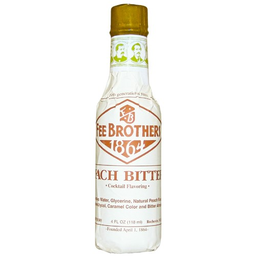 Bitter Fee Brothers Peach Bitters 5oz