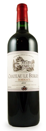 French Wine Chateau Le Bergey Bordeaux 2017 750ml