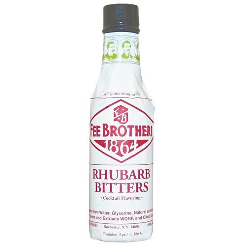 Bitter Fee Brothers Rhubarb Bitters 5oz