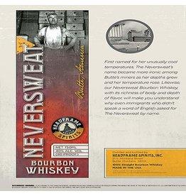 Bourbon Headframe Neversweat Bourbon 750ml