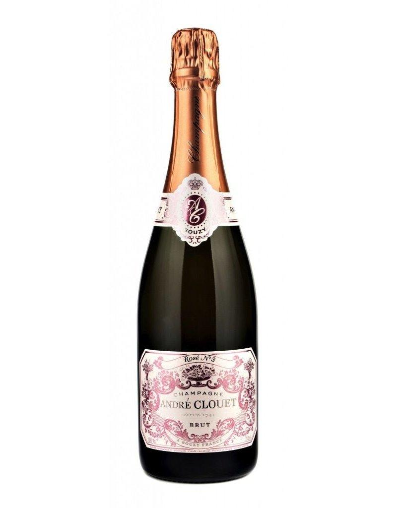Andre Clouet Brut Rosé Champagne NV 750ml
