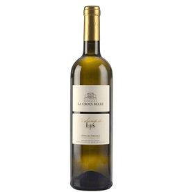 """French Wine Domaine La Croix Belle """"Le Champs des Lys"""" Blanc Cotes de Thongue 2017 750ml"""