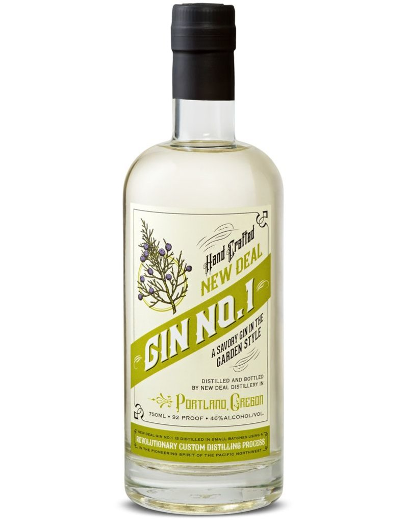 New Deal Gin No. 1 Garden Style Gin 750ml