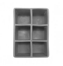 Cocktail Kingdom 2 inch Ice Cube Tray (Gray)