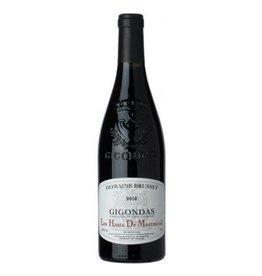 """French Wine Domaine Brusset Gigondas """"Les Hauts de Montmirail"""" 2009 750ml"""