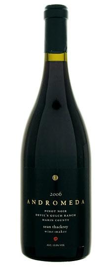 American Wine Sean Thackrey Andromeda Pinot Noir Devil's Fulch Ranch Marin County 2009 750ml