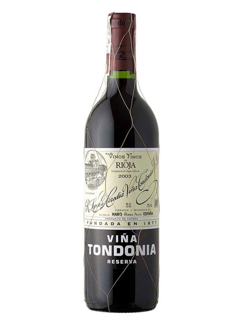 Lopez de Heredia Vina Tondonia Reserva 2006 750ml