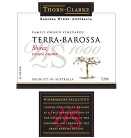"Australia/New Zealand Wine Thorn Clarke ""Terra Barossa"" Shiraz 2011 One Liter"